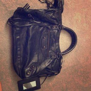 Balenciaga city bag in black
